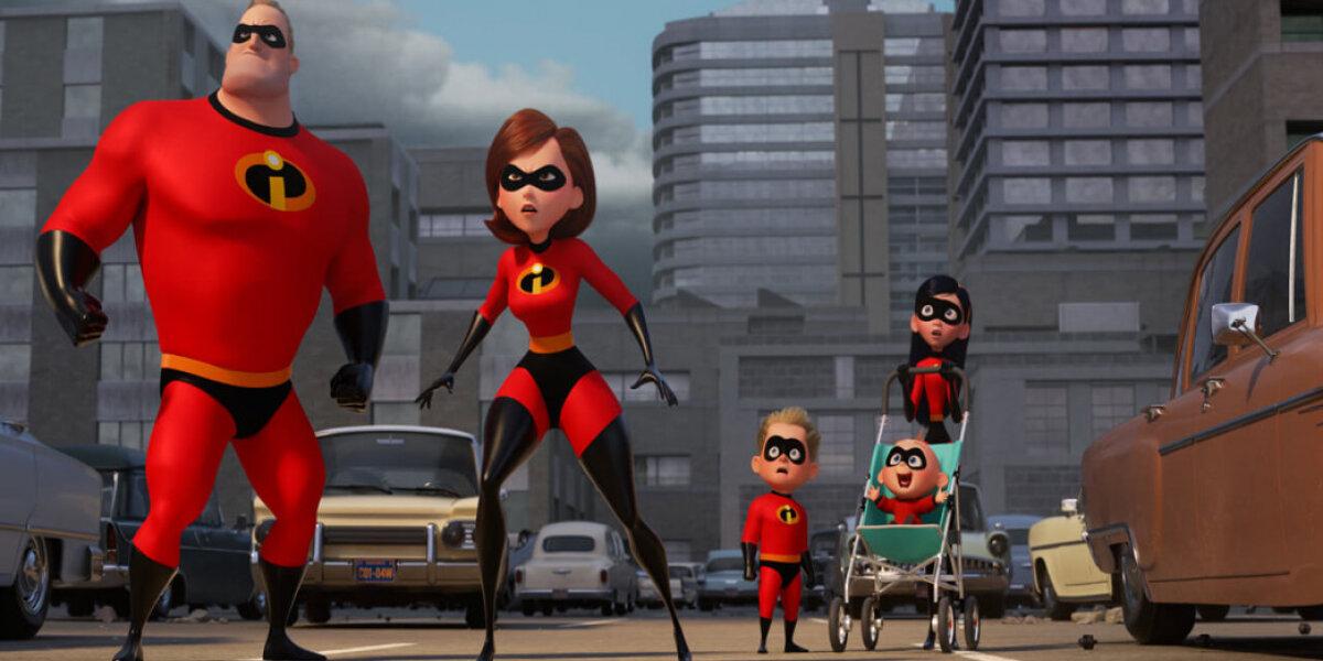 Pixar Animation Studios - De utrolige 2 - org.vers. - 3 D