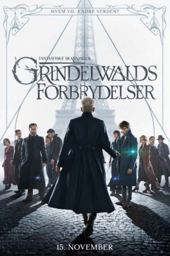 Fantastiske skabninger: Grindelwalds forbrydelser - 2 D