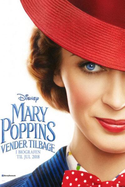 Mary Poppins vender tilbage - org.vers.