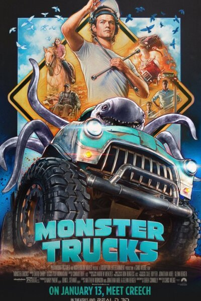 Paramount Pictures - Monster Trucks