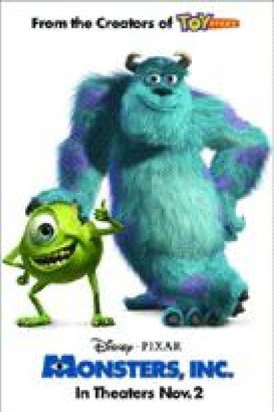 Walt Disney Pictures - Monsters, Inc. (org. version)