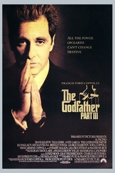 Zoetrope Studios - Godfather: Part III
