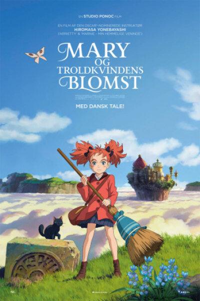 Mary og troldkvindens blomst - dansk tale