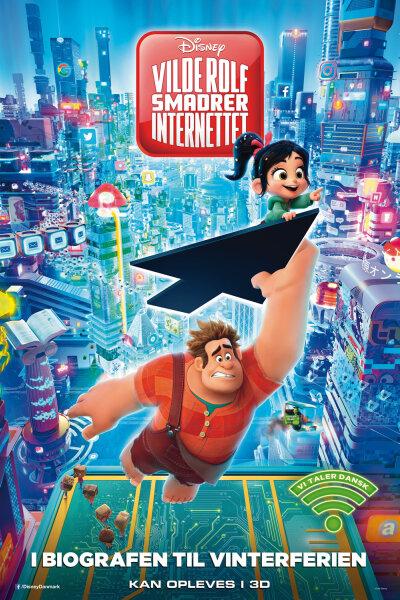 Walt Disney - Vilde Rolf smadrer internettet - 2 D