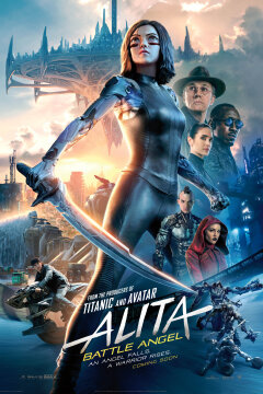 Alita: Battle Angel - 2 D