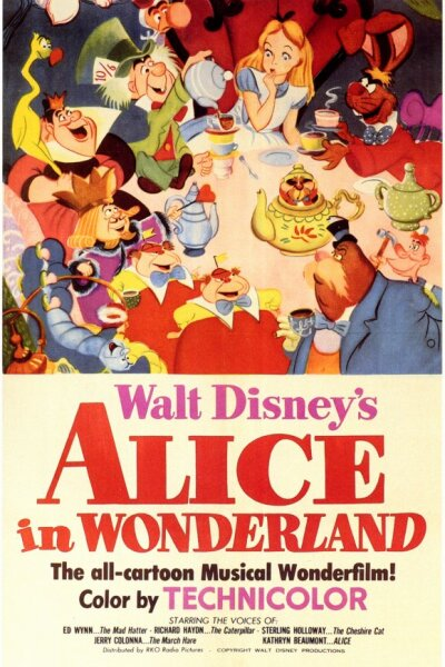 Walt Disney Productions - Alice I Eventyrland - Org.Vers.