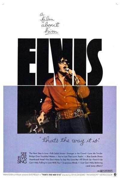 MGM (Metro-Goldwyn-Mayer) - Elvis: That's the Way It Is