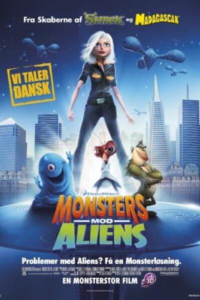 DreamWorks Animation - Monsters mod Aliens