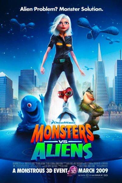 DreamWorks Animation - Monsters vs Aliens (org. version)