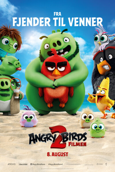 Sony Pictures Animation - Angry Birds 2 filmen - 3D