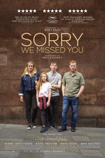 Sixteen Films - Sorry We Missed You