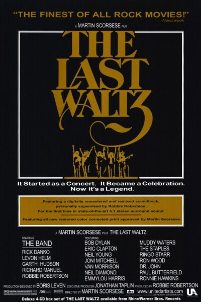 Last Waltz Inc. - The Last Waltz - The Band's sidste koncert