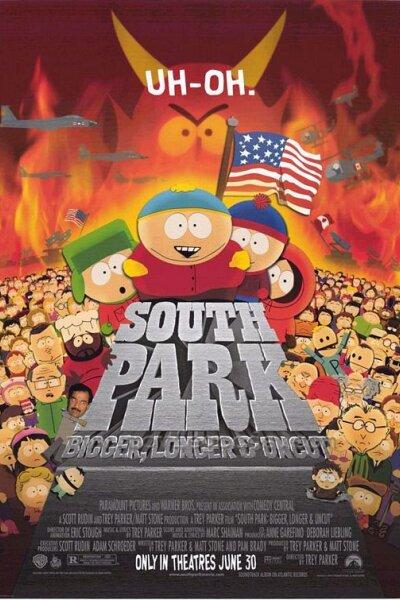 Comedy Central - South Park: Større, længere, ucensureret