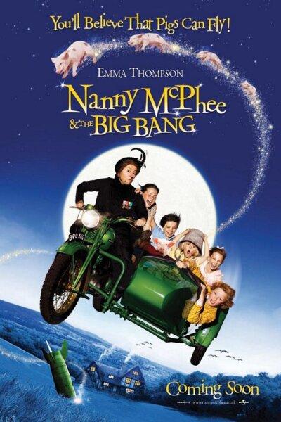 Working Title Films - Nanny McPhee med nye tryllerier