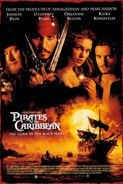 Touchstone Pictures - Pirates of the Caribbean - Den sorte forbandelse