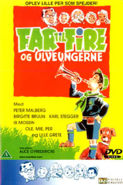 ASA Film Production A/S - Far til fire og ulveungerne