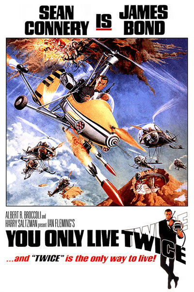 Eon - Agent 007 - du lever kun to gange
