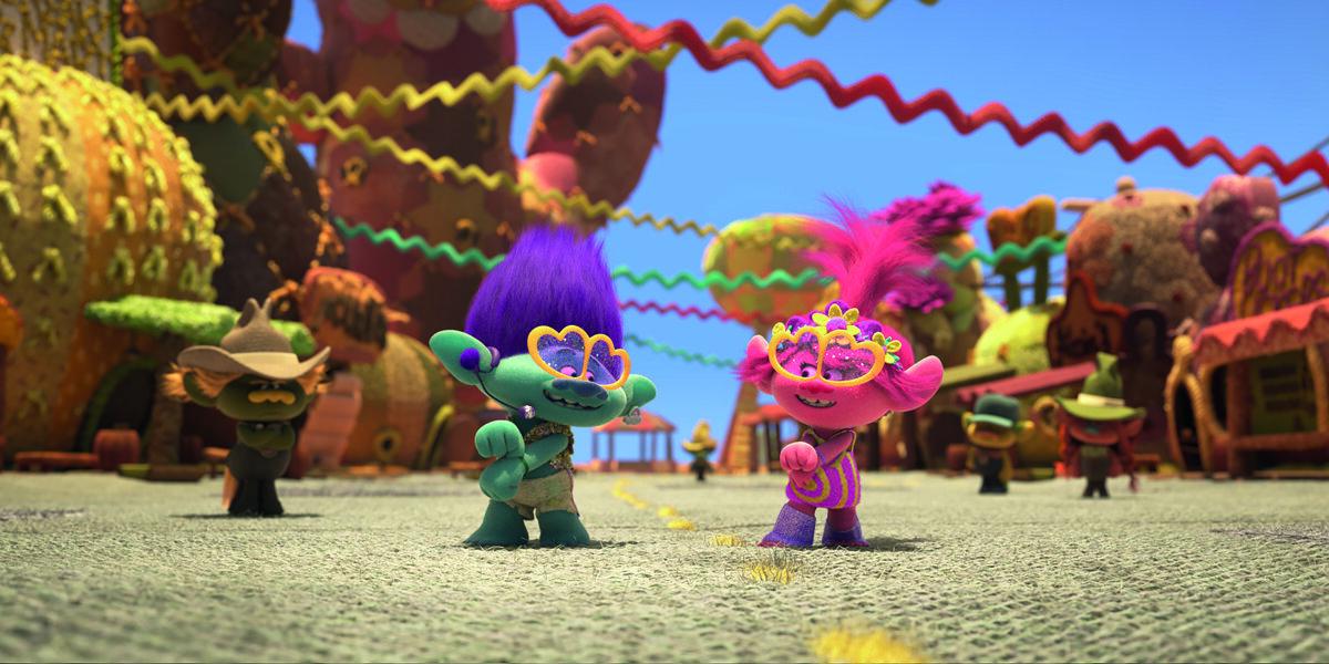 DreamWorks Animation - Trolls på verdensturné