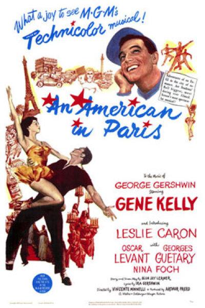 MGM (Metro-Goldwyn-Mayer) - En amerikaner i Paris