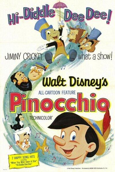 Walt Disney Pictures - Pinocchio - Org.vers.