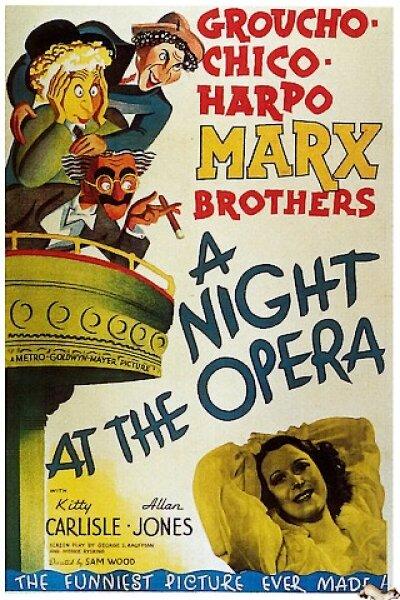 MGM (Metro-Goldwyn-Mayer) - Halløj i Operaen
