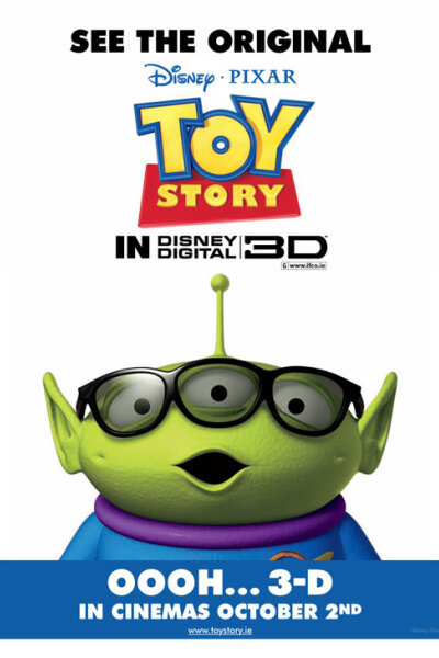 Walt Disney Pictures - Toy Story 1 i 3-D
