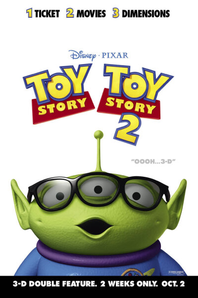 Pixar Animation Studios - Toy Story 2 i 3-D