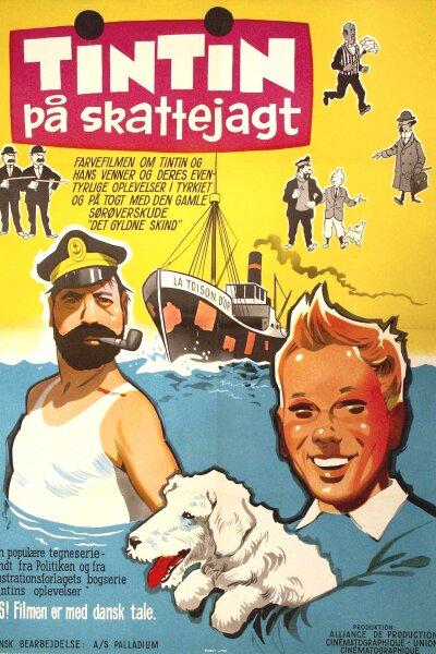 Alliance de Production - Tintin på skattejagt