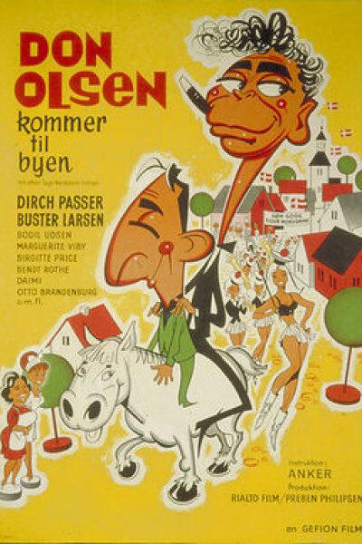 Rialto Film - Don Olsen kommer til byen