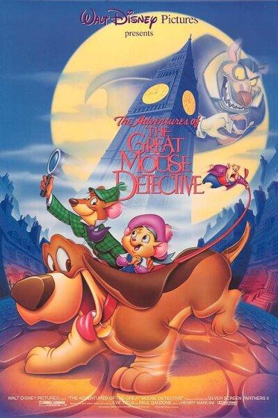 Walt Disney Pictures - Mesterdetektiven Basil Mus