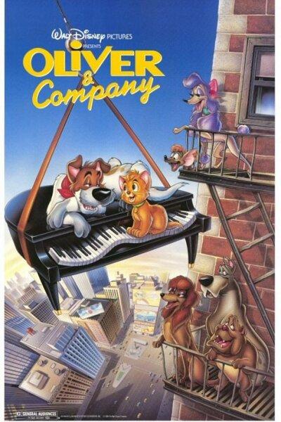 Walt Disney Pictures - Oliver & Co.