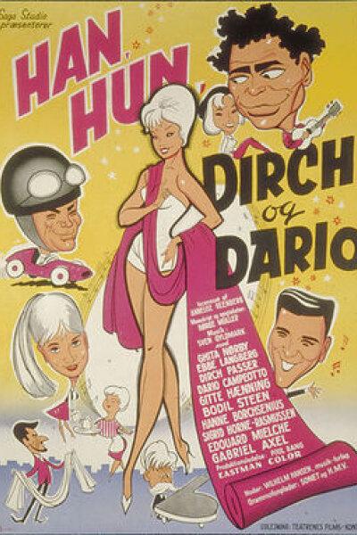 Saga Studio - Han, Hun, Dirch og Dario