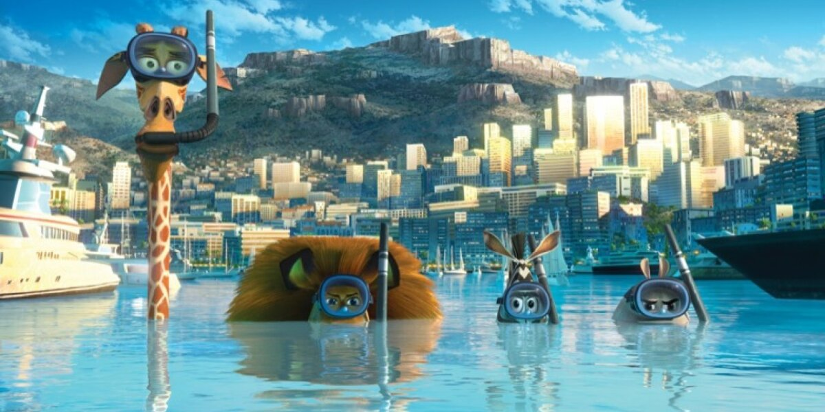 DreamWorks Animation - Madagascar 3 - 3 D