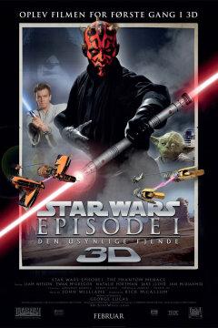 Star Wars: Episode I - Den usynlige fjende - 3 D