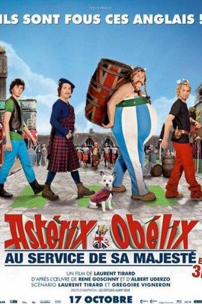 Morena Films - Asterix - Obelix og briterne - 3 D