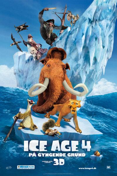 Blue Sky Studios - Ice Age 4: På gyngende grund - 2 D
