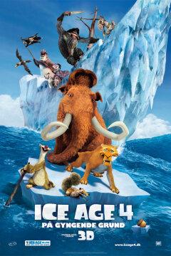 Ice Age 4: På gyngende grund - 2 D
