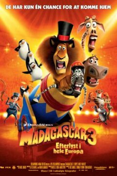 Madagascar 3 - 3 D