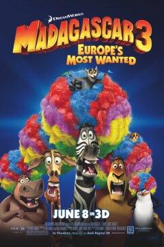 Madagascar 3 (org. vers.) - 3 D