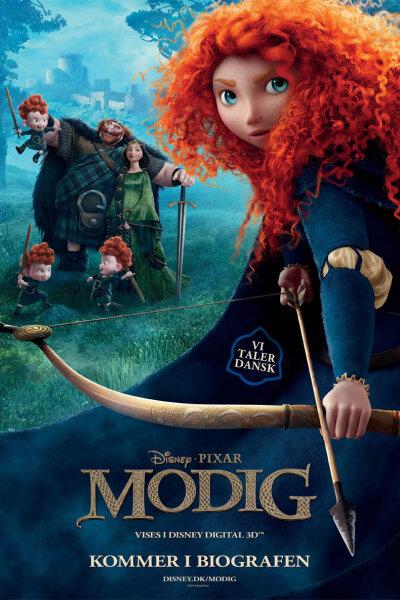 Pixar Animation Studios - Modig - 3 D