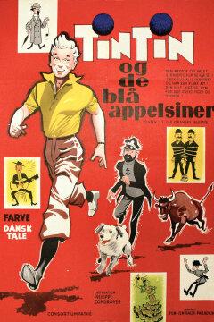 Tintin og de blå appelsiner