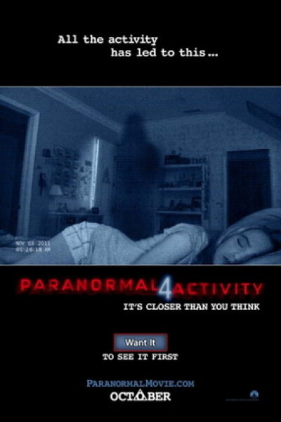 Room 101 - Paranormal Activity 4