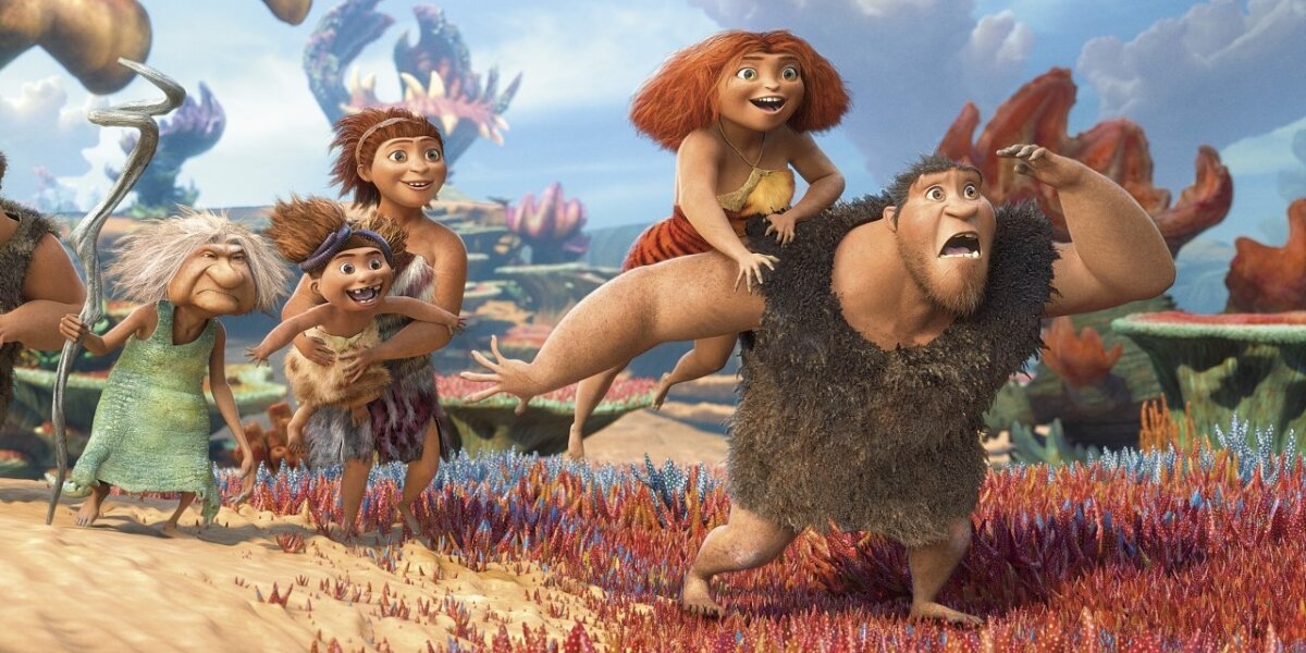 DreamWorks Animation - Croods - 3 D