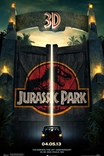 Amblin Entertainment - Jurassic Park - 3 D