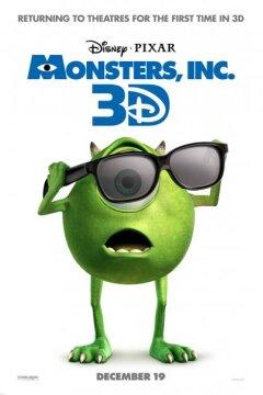 Monsters, Inc. - 3 D