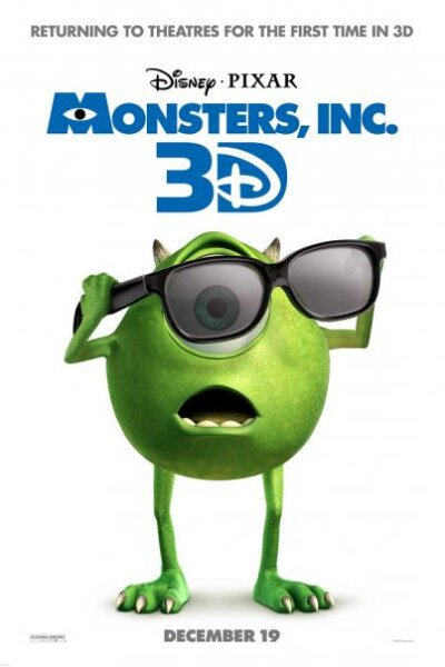 Walt Disney Pictures - Monsters, Inc. - 3 D