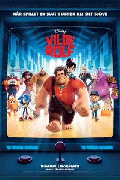 Walt Disney Animation Studios - Vilde Rolf - 3 D - Org. version