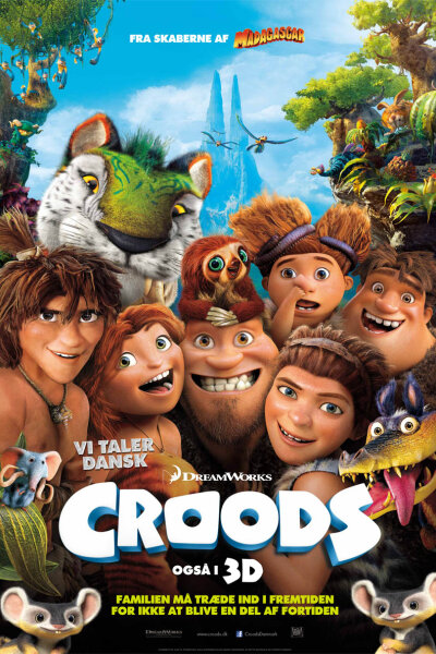 DreamWorks Animation - Croods - 3 D