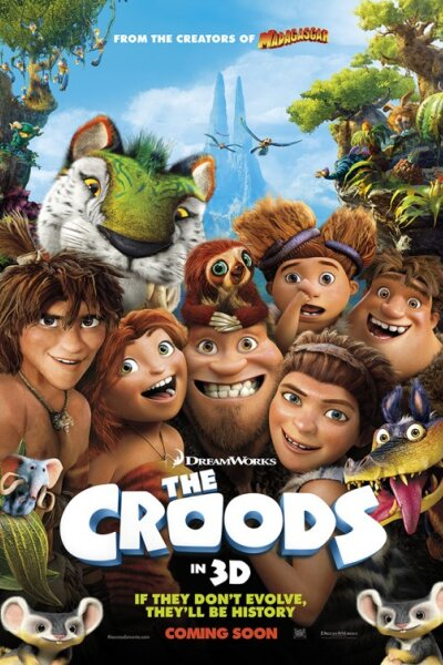 DreamWorks Animation - Croods - org. vers. - 3 D
