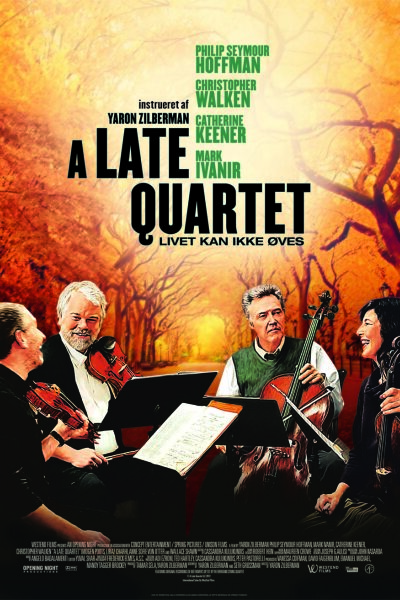 Opening Night Productions - A Late Quartet